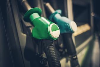Boquillas de la bomba de gasolina