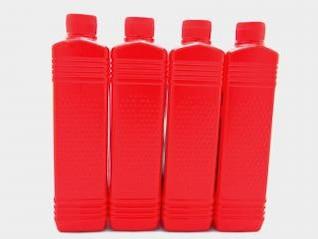 botellas de aceite de plástico