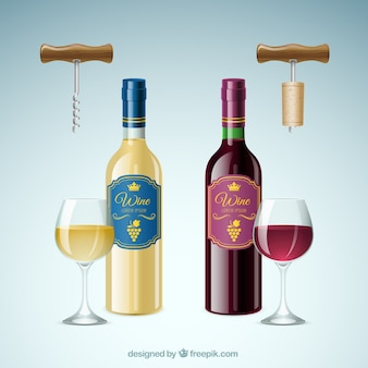 Botellas de vino