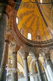 Bóveda de una catedral