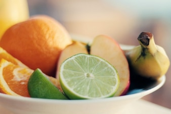Cuenco de fruta fresca