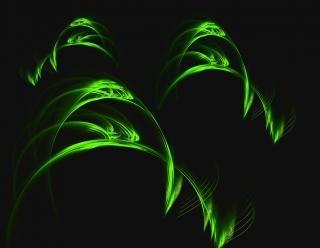 Briznas de hierba, fondo