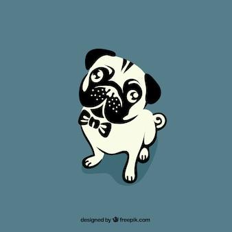 Dibujo de bulldog