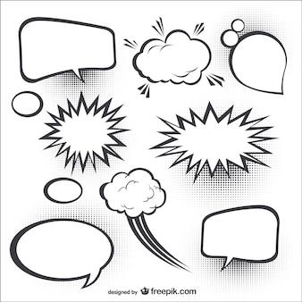 Burbujas cómicas del discurso
