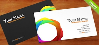 Business Card Plantilla PSD