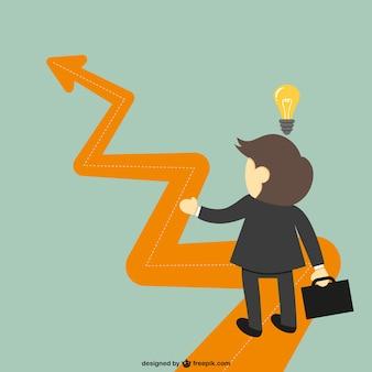 Idea éxito del negocio