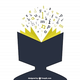 Cabeza humana como un libro abierto