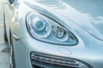 Cabeza, luces, coche