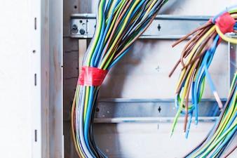 Cables de caja eléctrica