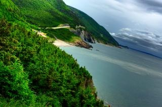 cabot trail paisaje hdr paisaje