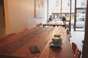 Café de la mañana Desayuno