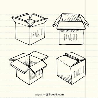 caja esbozada