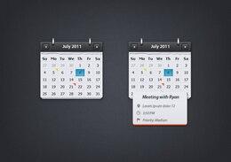 calendario de eventos globo oscuro evento de presentación