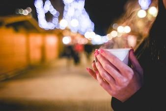 Calidez de Navidad en las calles