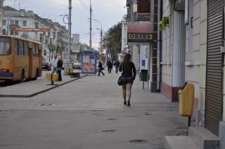 Calle de la ciudad, de la ciudad