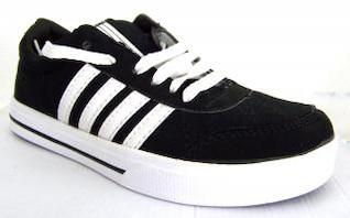 calzado deportivo, negro
