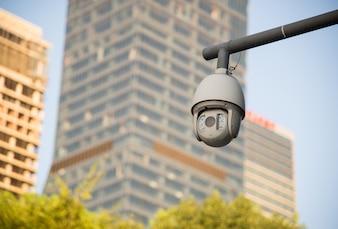 Cámara de seguridad y video urbano