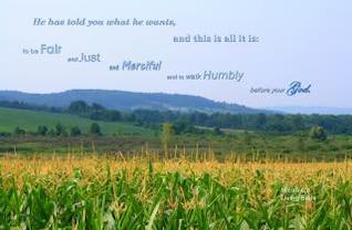caminar humildemente con Dios verso
