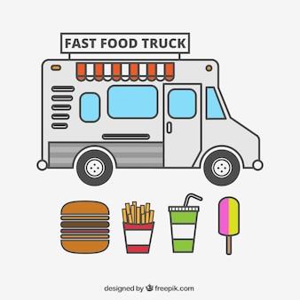 Camión de comida rápida