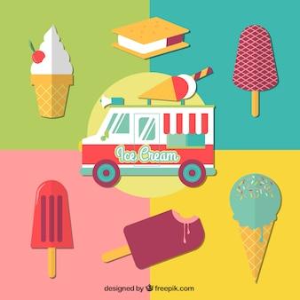 Camion de helados