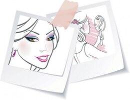 Cara de la mujer en el dibujo estética espejo
