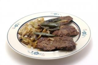 carne, en reposo