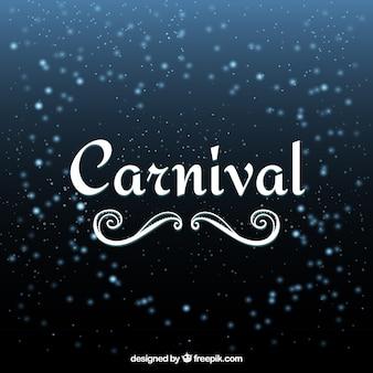 Fuegos artificiales de carnaval