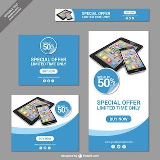Carteles de ofertas especiales