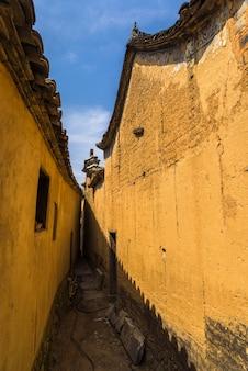 Casas rurales en antigua aldea