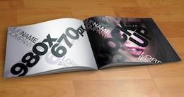 Catálogo Plantilla Mock-Up