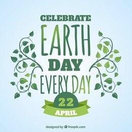 Celebra el día de la tierra