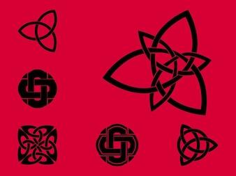 Celtic vector sello distintivo