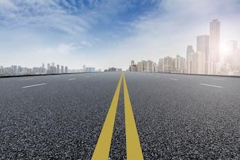 Cemento calle financiero centro de shanghai viajes
