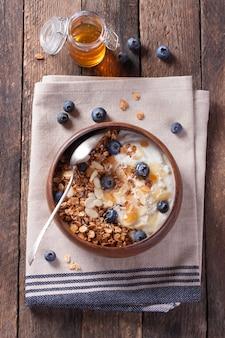 Cereales con kakis
