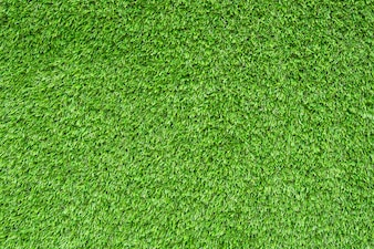 Césped verde artificial