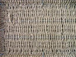 cesta de mimbre, fibras
