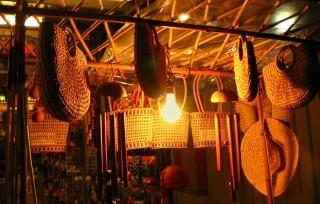 cestas y sombreros de paja