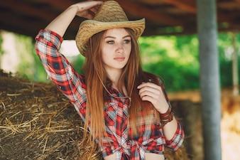 Chica del oeste