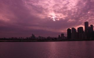 Chicago horizonte de la ciudad
