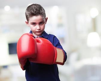 Chico boxeador
