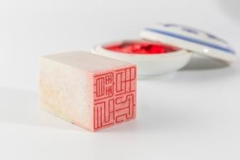Chino asiático del nombre del fondo del arte