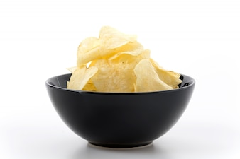 Chip slice amarillo preparado chatarra