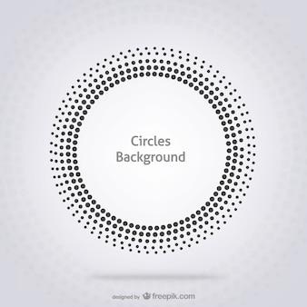 Fondo con círculos