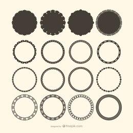 Círculos decorativos