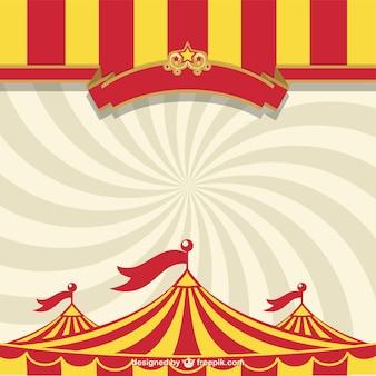Plantilla carpa de circo