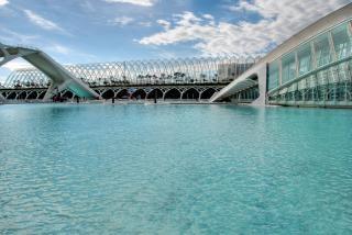 Ciudad de Las Artes y las Ciencias y de Las, el mar