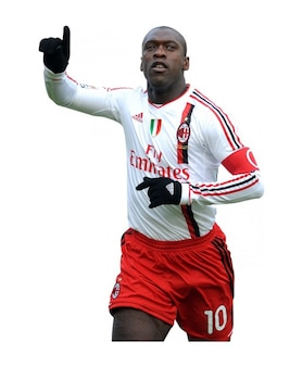 Clarence Seedorf del AC Milan Serie A