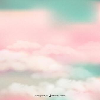 Textura de nubes