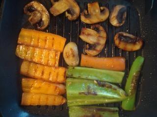cocción de las verduras