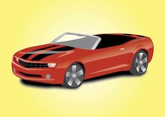 coche deportivo descapotable